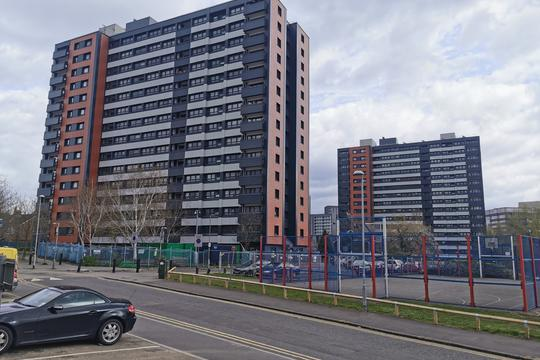 Arthur Millwood and Canon Hussey Court in Salford - cladding remediation complete