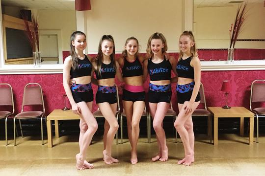 Salford dancers have been helped with the Springboard fund