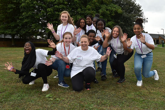 Salix Homes' Boost for Youth Panel during Love Your Neighbourhood Week