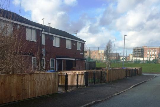 This estate in Broughton has been part of the improvement work project