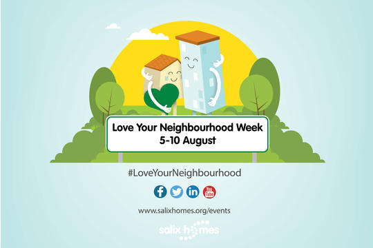 Love Your Neighbourhood Week, Salix Homes