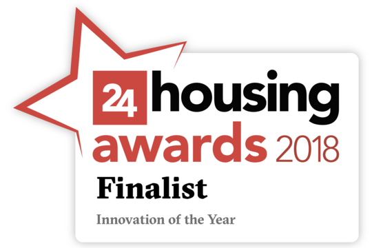 Mii Home has been shortlisted for a 24Housing Award