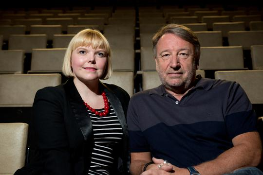 Peter Hook at Salford Arts Theatre with Roni Ellis
